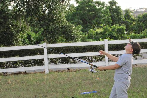 Backyard Fishing 1