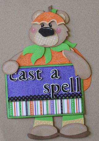 Cast a Spell Title Piecing