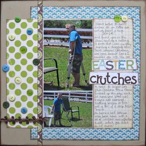 Easter Crutches